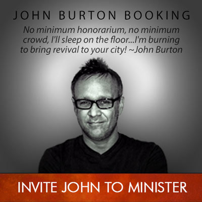 John Burton Booking