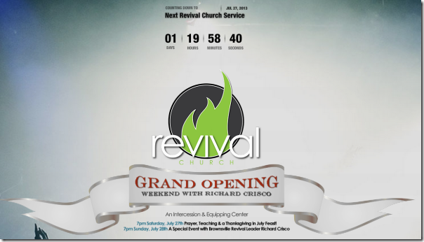 You Are Invited To A Thanksgiving In July Feast At Revival Church