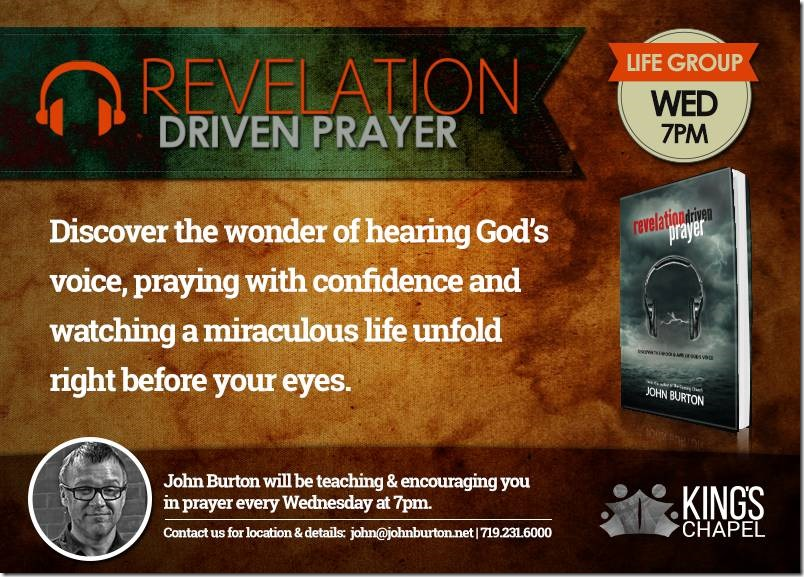 Revelation Driven Prayer Life Group