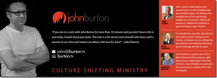 John Burton Ministries Promo 2018