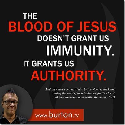 John Burton Quote Blood Authority