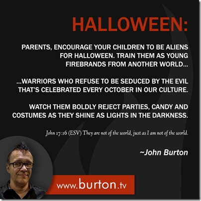 John Burton Quote Halloween Aliens