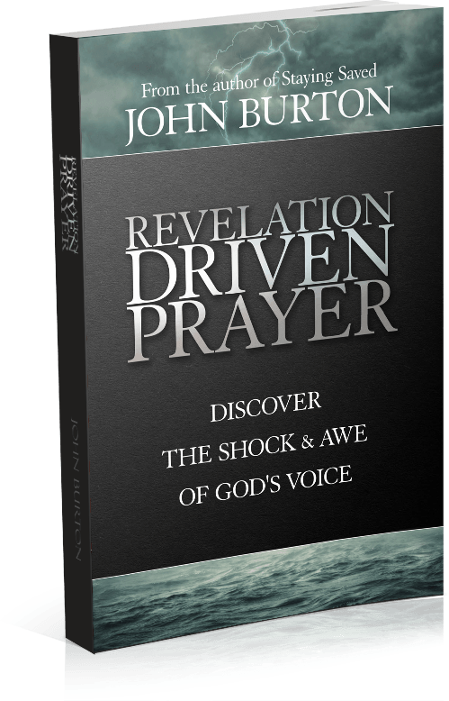 Revelation Driven Prayer 2018 Cover Paperback(6x9 Right)