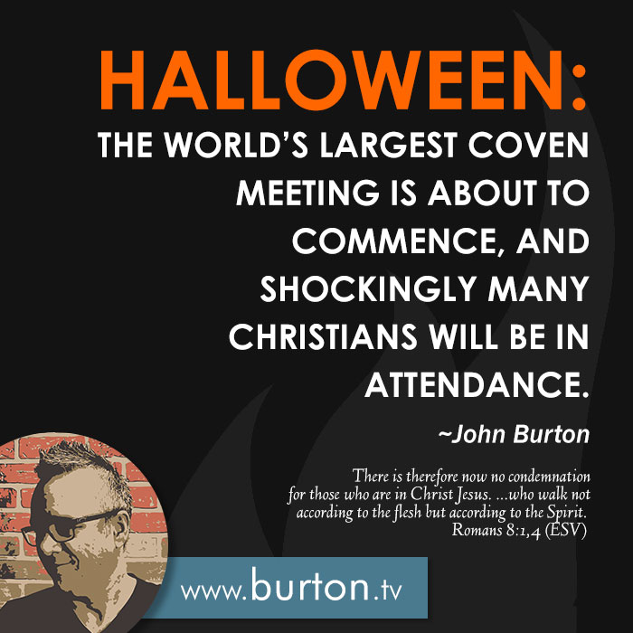 John Burton Quote Halloween Coven